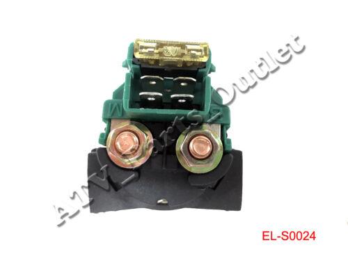 Solenoid Starter Relay for Kawasaki Vulcan 500 800 88 EN500 VN800