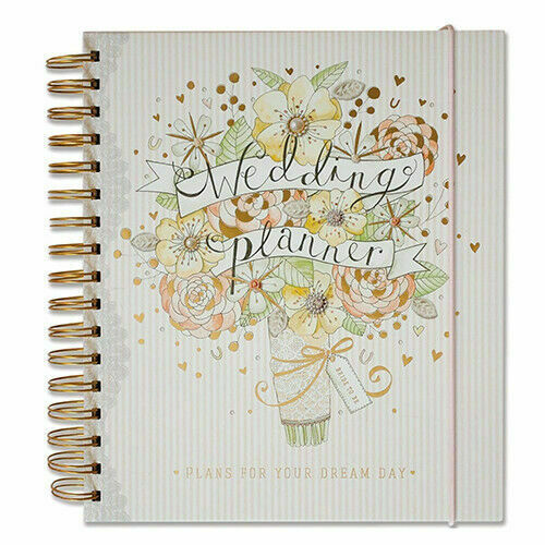 Wedding Planner Gifts: Hallmark Vintage Wedding Planner Book Diary Journal