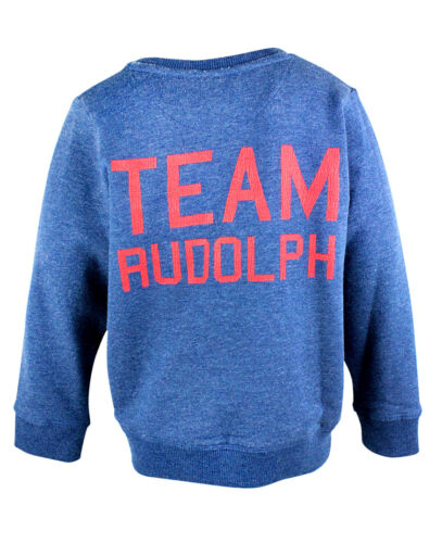 COOL XMAS JUMPER BNWT TODDLER//BOYS EX M/&S RUDOLPH CHRISTMAS JUMPERS