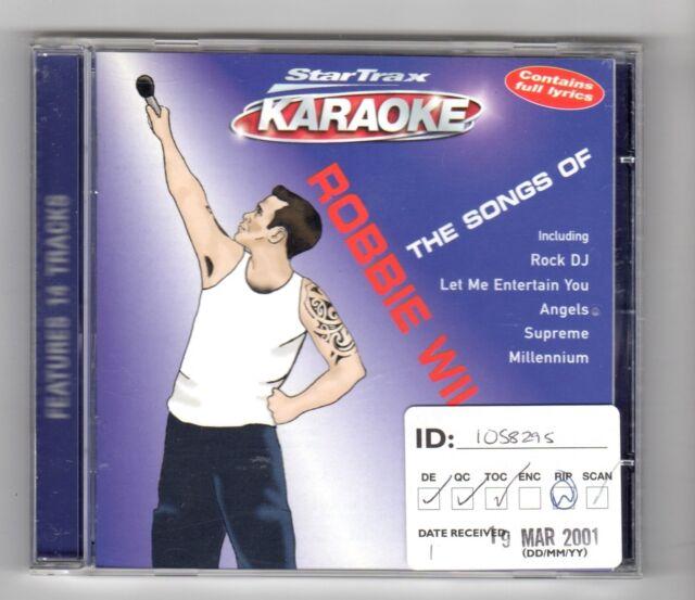 (HZ771) StarTrax Karaoke: The Songs Of Robbie Williams - 2001 CD