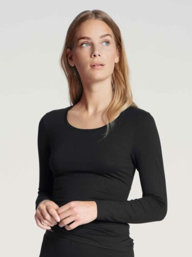 Calida Femmes Manches Longues-Shirt Col rond Natural Comfort US