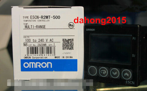 New Omron  Temperature Controller E5CN-Q2MT-500 100-240VAC