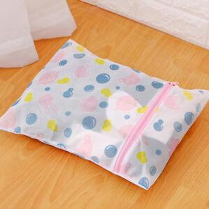 Mesh-Laundry-Bags-Travel-Cloth-Storage-Net-Zip-Bag-Wash-Bra-Stocking-Underw-SU