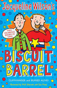 Jacqueline-Wilson-Biscuit-Barrel-034-Cliffhanger-034-034-Buried-Alive-034-Wilson-Jacquel