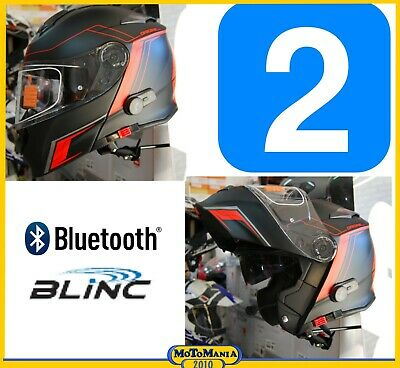 CASCO MODULARE CON INTERFONO BLUETOOTH V271 ORIGINE DELTA MOTION BLACK RED M