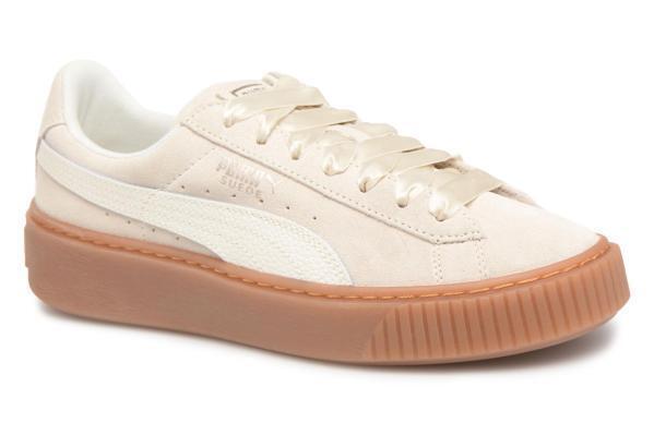 scarpe PUMA Marshmallow, - Suede Platform Bubble Wn's Marshmallow, PUMA numeri 36-40 b84104