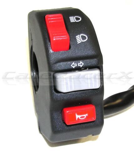 New Universal Headlight Turn Signal Horn Switch Motorcycle Street Dual Sport ATV