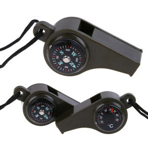 3-in1-Emergency-Survival-Gear-Camping-Hiking-Whistle-Compass-Thermometer-US