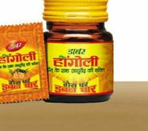 Dabur-Hingoli-Natural-Cure-for-Gas-Stimulate-Digestion-90-TABS-Free-shipping