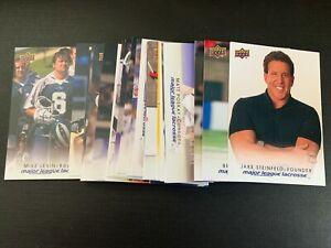 2010 Upper Deck  Major League Lacrosse MLL  - YOU PICK THE CARD