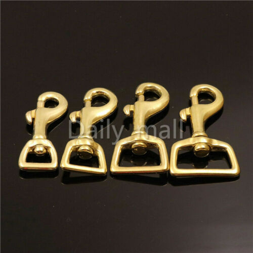 Brass Lobster Trigger Swivel Clasps Heavy Duty leather bag//Pet Dog Leash Clasp
