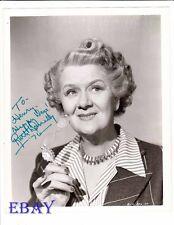 Ruth Donnelly autograph VINTAGE Photo