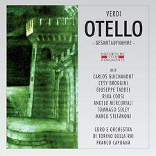 VERDI Otello (Ga) FRANCO CAPUANA Rina Corsi Cesy Broggini Giuseppe Taddei 2CD