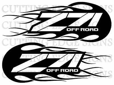 Z71 Decals Custom Vinyl Decals Set of 2 Wild Country Z71  Deer Skull