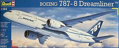 Aeromodello in kit da costruire revell 4261 boeing 787 8 dreamliner 1:144