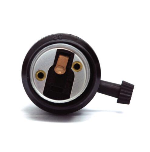 2pc bakélite lamp holder socket E-27 E27 250 V 250 W UL avec on-off Switch #632A