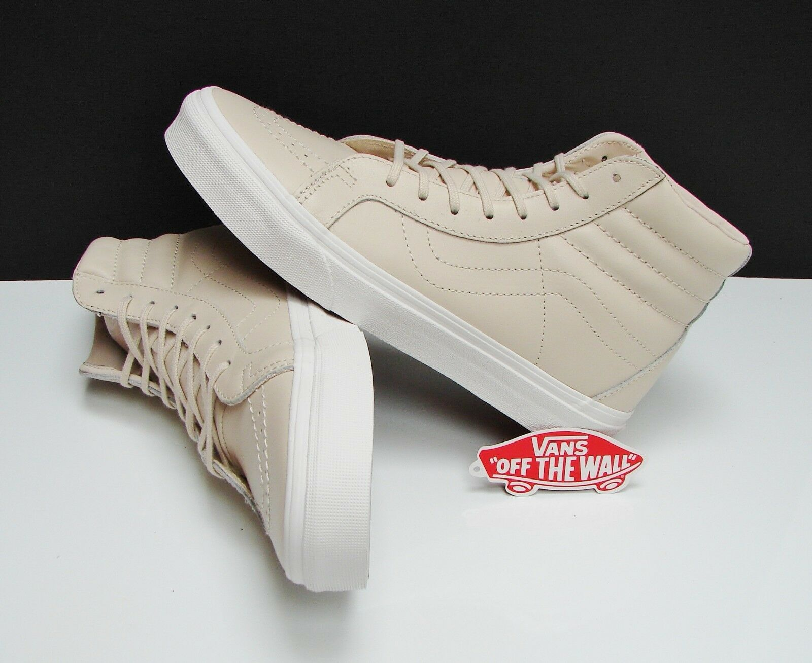 b6f5b388036 Vans SK8 Hi Reissue DX Leather Whisper Pink gold VN0A38GJOES Men s Size 11