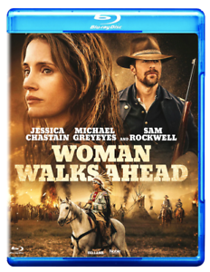 WOMAN-WALKS-AHEAD-2018-Blu-ray-Region-B-Jessica-Chastain-New-amp-sealed