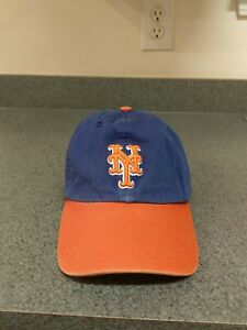 aa03635b9b04d New York Mets 47 Brand The Franchise Blue Hat Cap Large Fitted Blue ...