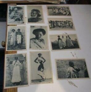 AFRICA-ORIENTALE-serie-10-pubbl-IGNAZIO-MESSINA-amp-C-GENOVA-FP-NV-1936-41