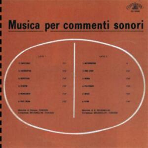 Stefano Torossi / Sandro Brugnolini - Musica Per Commenti Sonori (Lp+Cd)