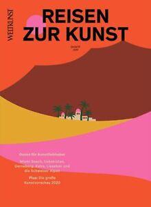 """WELTKUNST Nr. 166, Spezial 01-2020: """"Reisen zur Kunst"""""""