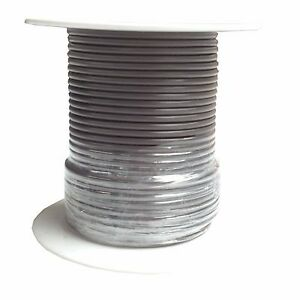 18 Gauge | Brown | Primary Wire | 100 feet | SAE J1128 GPT | Made in U.S.A.