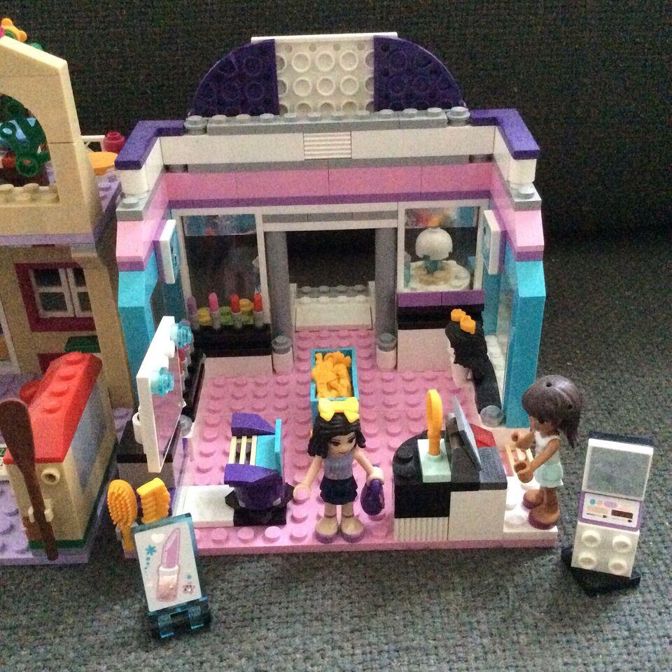 Lego Friends, Bager pizzaria frisør