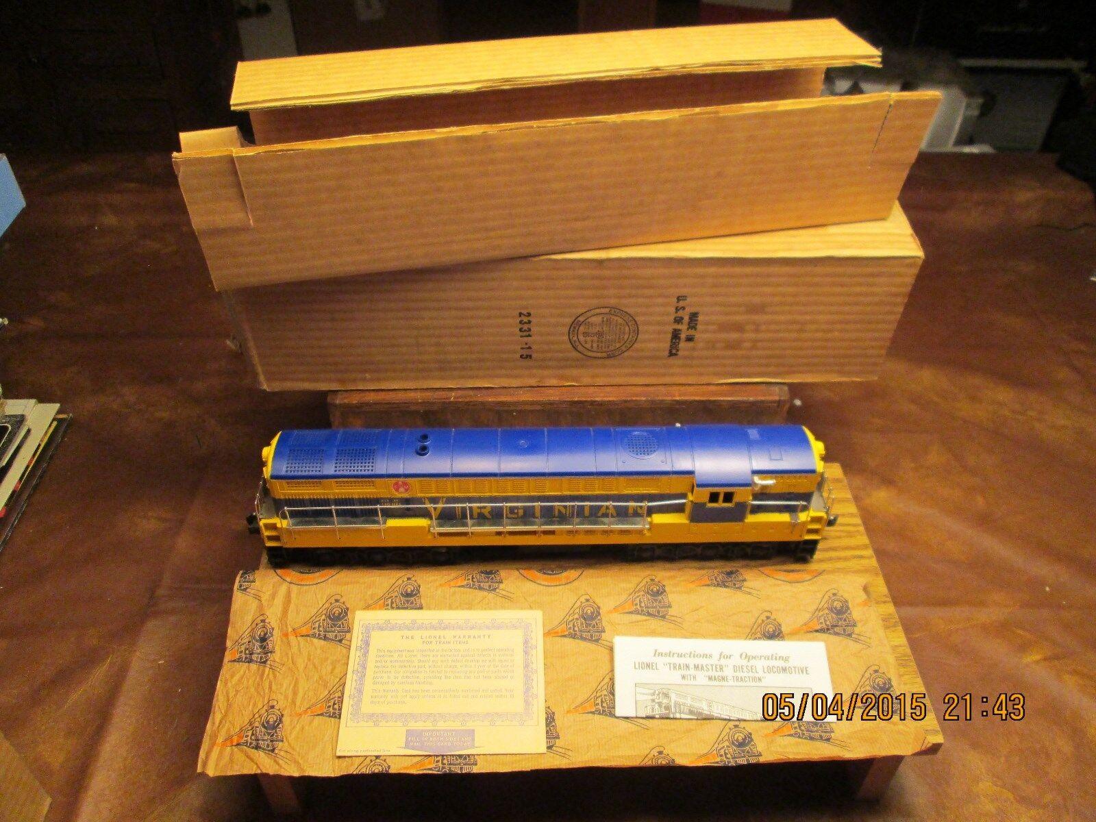 Lionel Lionel Lionel 2331 Virginian FM Type 3 1955 a169cb