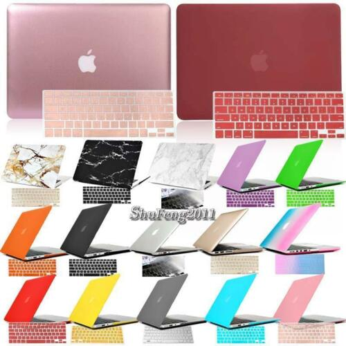 Keyboard Cover For Apple MacBook 11 12 13 15 Air Pro Hard Rubberized Case