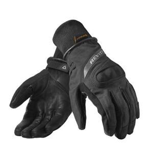 Guanti-moto-Rev-039-it-Hydra-h2o-nero-taglia-S-black-gloves-invernali