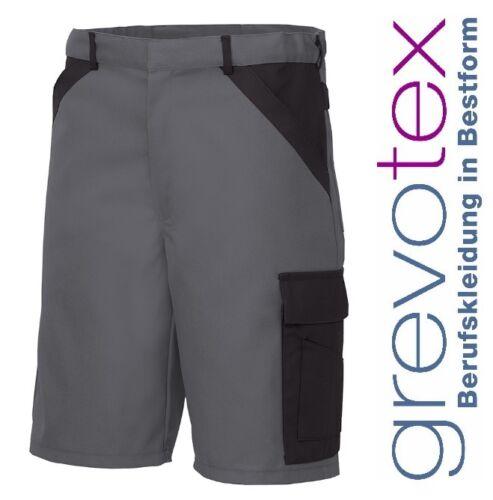 Arbeitshose Kurze Hose Bermuda Shorts Arbeitskleidung Grau Schwarz Größe 38-68