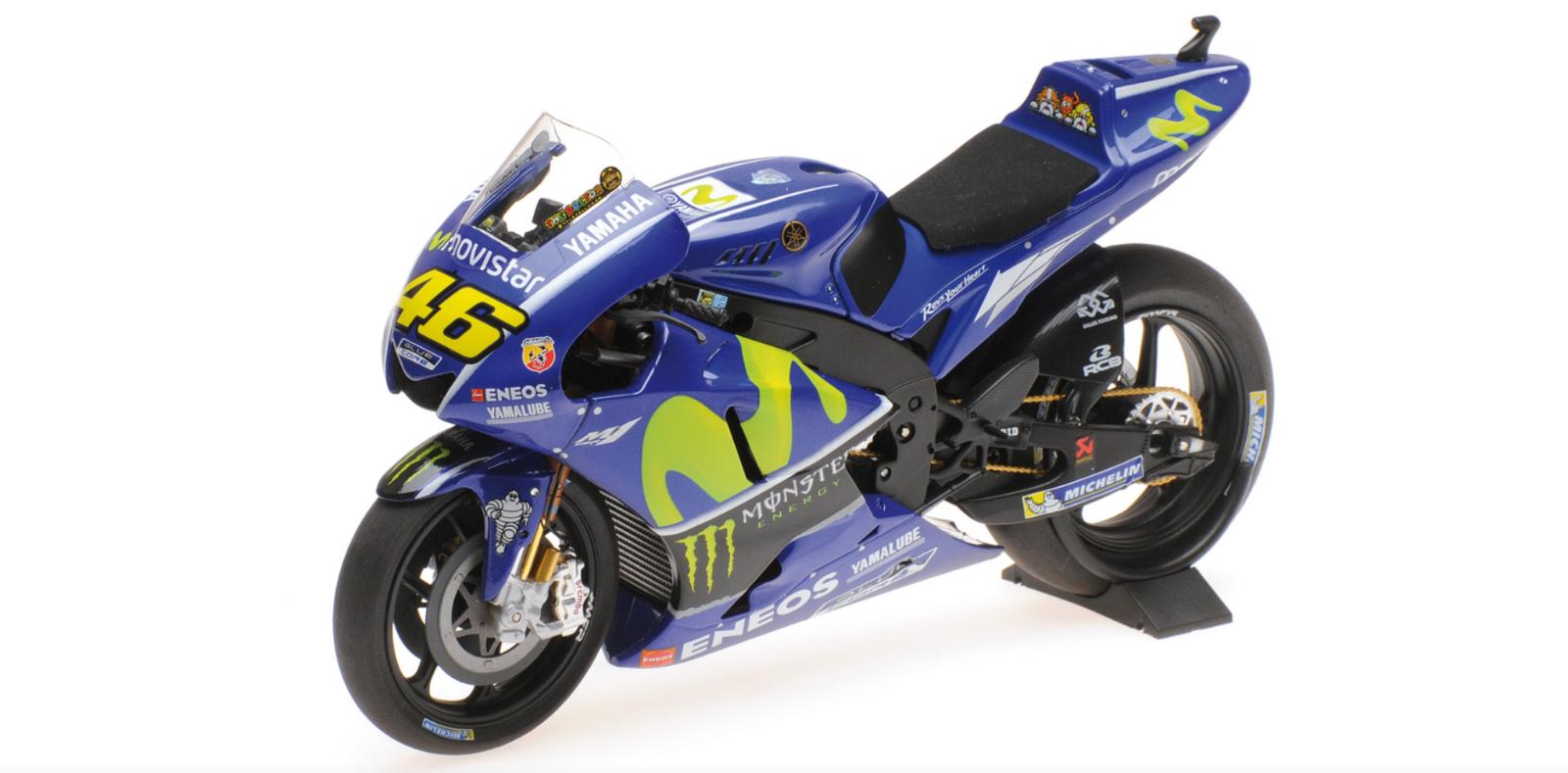 1 12 Yamaha YZR-M1 Rossi 2017 1 12 • Minichamps 122173046