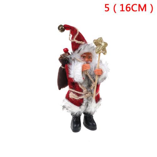 Plush Santa Claus Christmas Decor New Year Ornaments Xmas Tree Decoration GiftCL
