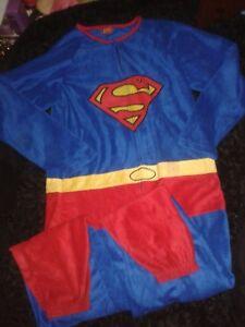 in Superman tinta M unita da uomo Tuta nq1Iz1a