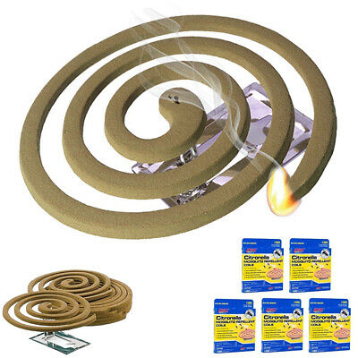 5PK Mosquito Repellent 20 Coils Outdoor Use Lasts 5-7 ...