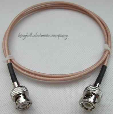 50 ohm BNC Double Male Adapter Silvered 50-1.5 Double Shielded Cable RG316D best