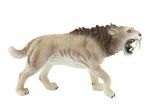 Saber-Tooth Tiger 3 7/8in Prehistoric World Bullyland 58375
