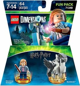 LEGO-Video-Game-Dimensions-Harry-Potter-Hermione-Fun-Pack-71348-New-amp-Sealed