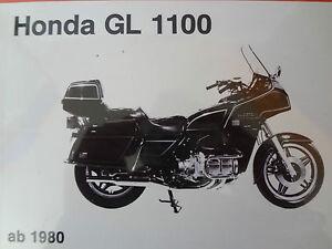 Honda GL 1100 Goldwing  ab 1980  Reparaturanleitung Handbuch