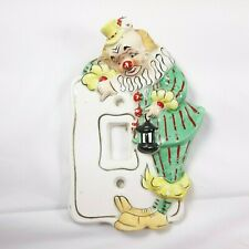 Vintage Clown 1970s Light Switch Cover Plate Paint Wear Ebay