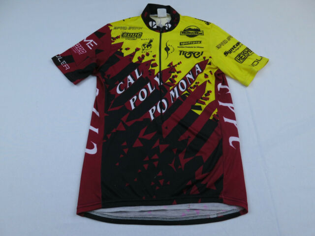 067dd84e0 Mens Voler Cal Poly Po Mona Troxel Spinergy Hersehy Sz Small Bike Cycling  Jersey