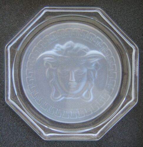 catégorie B ROSENTHAL VERSACE Medusa glasuntersetzer Crystal lumiere Ø 10,5 cm