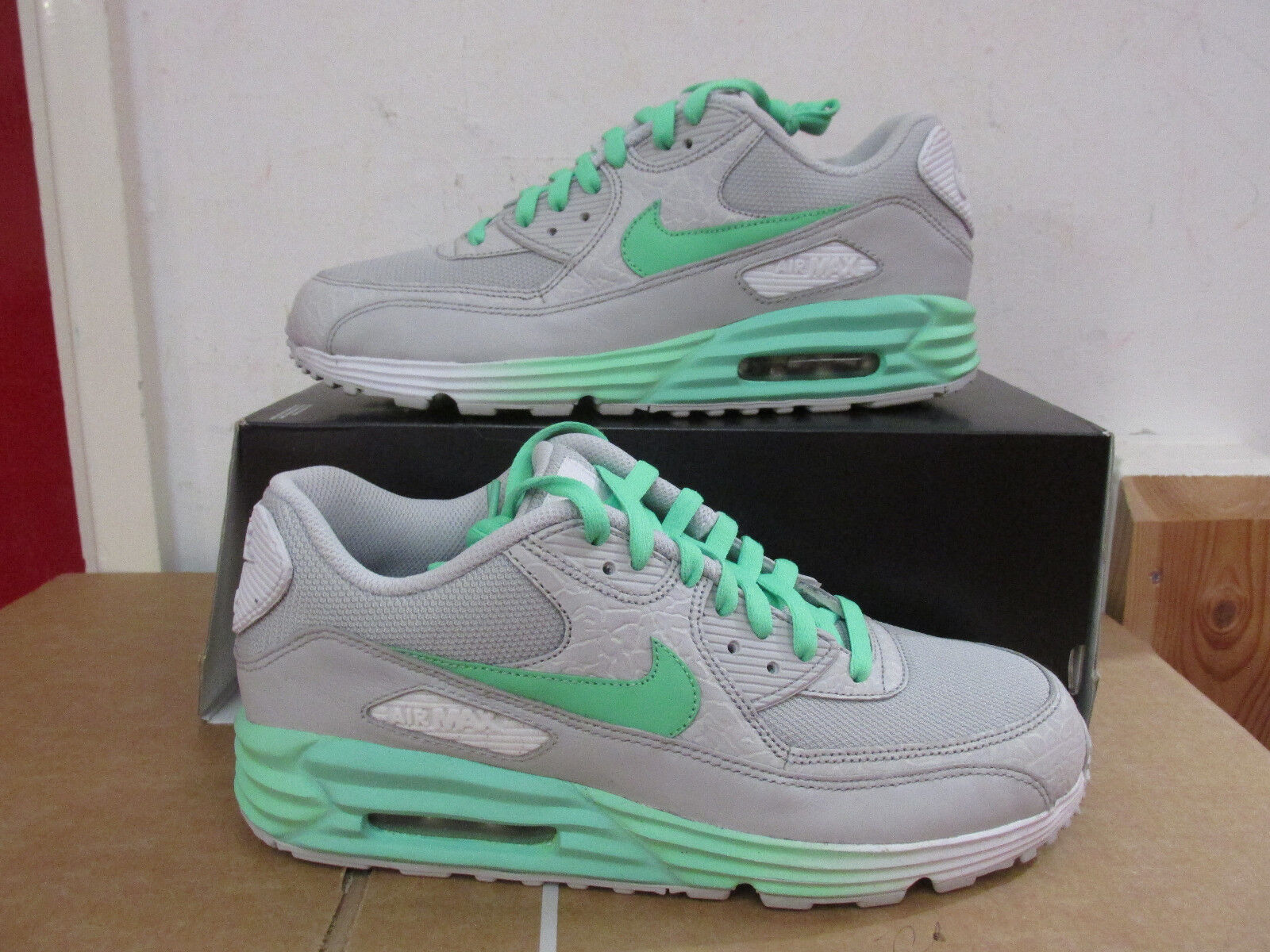 dbe7b1e4653 Nike ID Mens air max 90 lunar trainers 653534 653534 653534 991 Sneakers us  8.5 eu