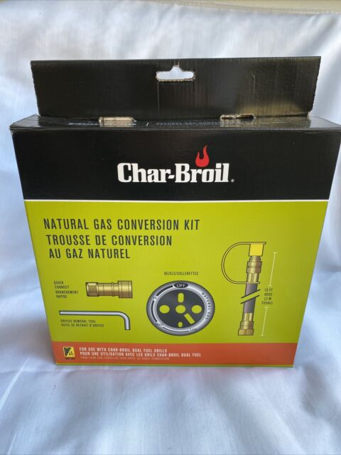 Char Broil Natural Gas Conversion Kit Dual Fuel Fire Bbq Grill Outdoor For Sale Online Ebay