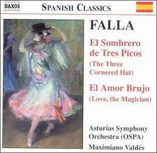 Falla: El Sombrero de Tres Picos (The Three-Cornered Hat) /  El Amor Brujo (Love