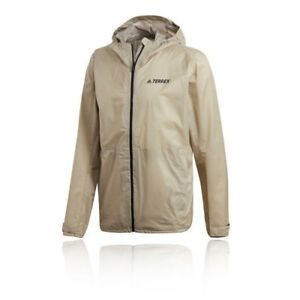 Details about ADIDAS TERREX CLIMAPROOF JACKET - Top Grey Sand - SIZE -  MEDIUM - BRAND NEW