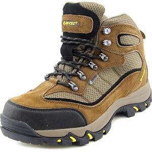 5d9a1eec838 Hi-Tec Mens 7198 Skamania Mid Waterproof Durable Hiking BOOTS Brown/gold  10.5 Regular