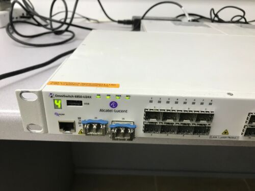 managed switch Alcatel OmniSwitch 6850-U24X