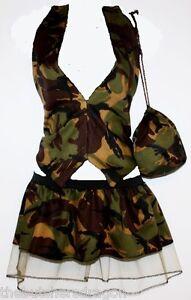 PLUS-SIZE-ARMY-Camo-Soldier-Waistcoat-Pleated-Tutu-Pouch-Fancy-Dress-Military